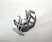 infinite.line.15-05.faltplan.sketchII Ralf Weber : Skulpturen Kunst